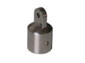 AISI 316 Top Cap with two set-screws 32mm
