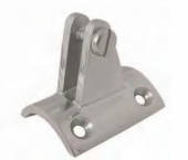 AISI 316 Deck Hinge for tube 40mm