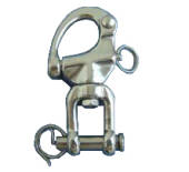 AISI 316 Swivel Jaw Snap Shackles 12mm