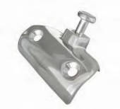 AISI 316 Windshield Side Mount with bolt 750 58x32mm