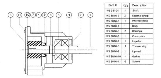WS3810 - Repair Instructions
